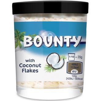 Шоколадная паста 200г*6 Баунти с кокосовой стружкой