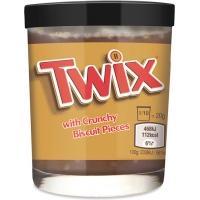 Шоколадная паста 200г*6 Твикс с кусочками печенья