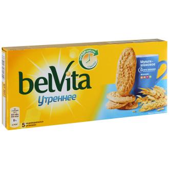 Утреннее печенье Bel Vita 225гр*20 Злак....