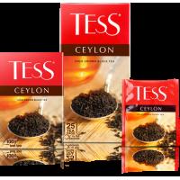 Тесс Чай  25пак.*2гр*(10) Цейлон чёрный/цейлонский/высокогорный