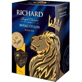 Ричард чай листовой 180г*12 Роял Цейлон