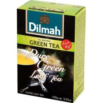 Дилма чай  100г*12 Зеленый чай крупнолистовой