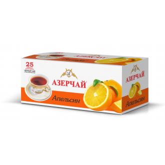 Азерчай  25 пак*1,8г*(24) Апельсин  c конверт.