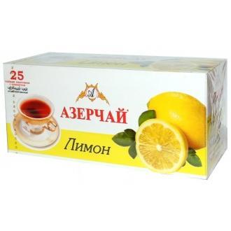 Азерчай  25 пак*1,8г*(24) Лимон  c конверт.