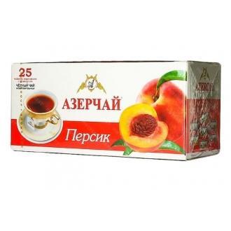 Азерчай  25 пак*1,8г*(24) Персик c конверт.
