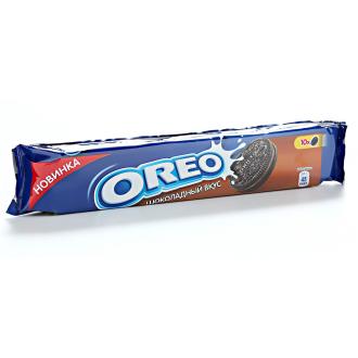 Орео печенье 95г*28 с какао и вкусом шок...