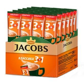 Якобс Монарх  кофе  3в1  13,5г*24*(10бл)...