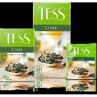 Тесс Чай  100п*1,5гр*(9) Лайм зеленый/це...