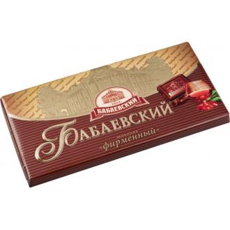 Бабаевский  шоколад 100гх17шт*(4бл) ФИРМЕННЫЙ  внимание вложение!!!