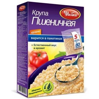 Увелка Пшеничная крупа 80 г*5 (6шт)