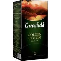 Гринфилд чай 25пак*2г*(10) Голден Цейлон черный/цейлонский