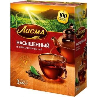 Лисма чай Насыщенный 100 пак*2 г*(80) Индия