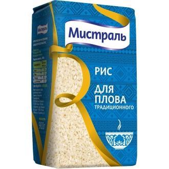 Рис круглый 'Мистраль '  900г*12 Для плова