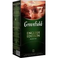 Гринфилд чай 25пак*2г*(10) Инглиш Эдишн черный/цейлонский/высокогорный