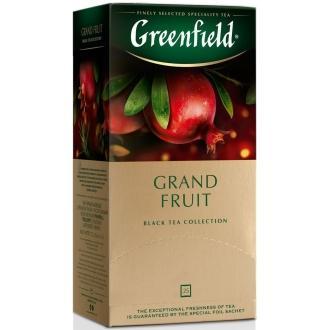 Гринфилд чай 25пак*1,5г*(10) Гранд Фрут /гранат/розмарин