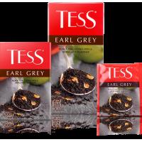 Тесс Чай  100п*1,8гр*(9) Эрл Грей черный/бергамот/цедра цитрусовых
