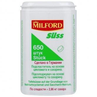 Заменитель сахара  'MILFORD ' 650 таб.*12
