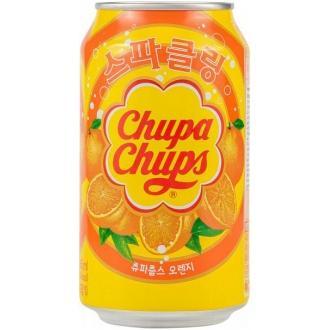 Чупа Чупс газ.напиток 345мл*24 апельсин