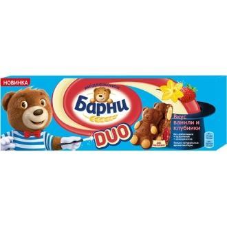 Барни Медвежонок  ДУО 150г*20 Клубника/В...