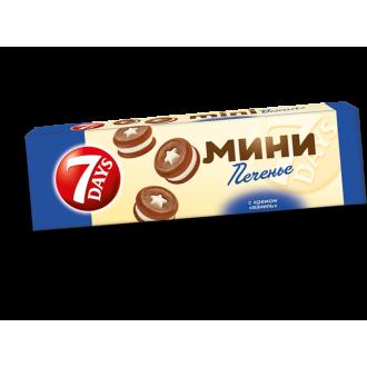 Печенье сдобное '7-DAYS '100г*8 Ваниль