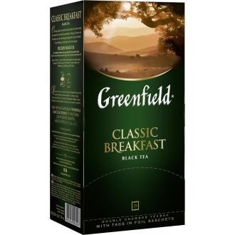Гринфилд чай 25пак*2г*(10) Классик Брекфаст черный/индийский