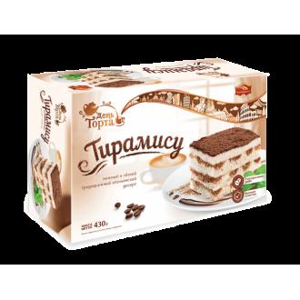 """Торт""""Черемушки""""Тирамису 430г*6"""