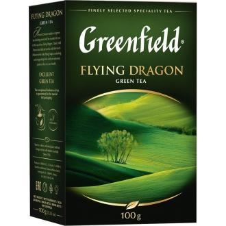 Гринфилд чай 100г*14 Флаинг Драгон зелен...