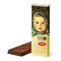 Алёнка  20г*64*(4бл) Молочный шоколад