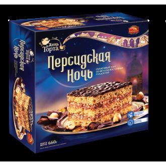 Торт 'Черемушки 'Персидская ночь 660г*6