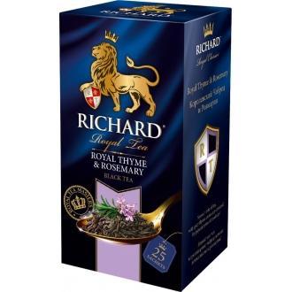 Ричард чай 25пак.*12 Королевский Чабрец и розмарин