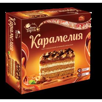 Торт 'Черемушки 'Карамелия 660г*6