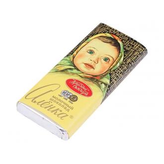 Алёнка  60гх25шт*(3бл) Молочный шоколад