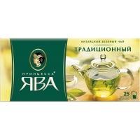 Принцесса  Ява Зеленый чай 25 пак*2 г*(18) Традиционный