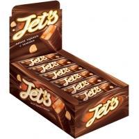 Батончики JET S с печеньем и мягк.карамелью 42г*18шт*(8бл)