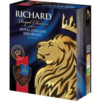 Ричард чай 100пак.*6 Английский завтрак