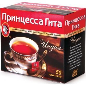 Принцесса  Гита чай 50 пак*2 г*20 черный