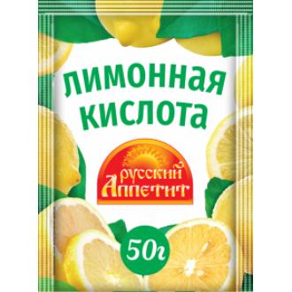 Лимонная кислота  'Русский Аппетит ' 50г...