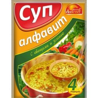Суп Алфавит  'Русский Аппетит ' 60гр*20 ...