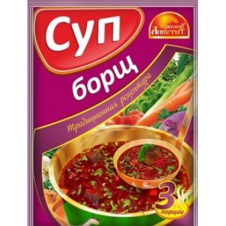 Суп Борщ  'Русский Аппетит ' 50гр*20 шоу...