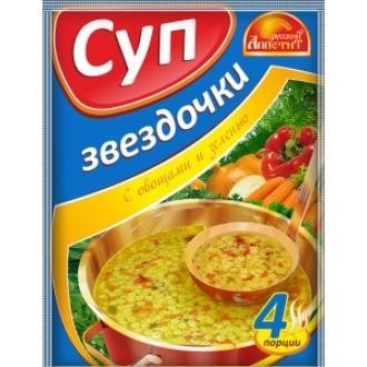 Суп Звездочки  'Русский Аппетит ' 60гр*2...