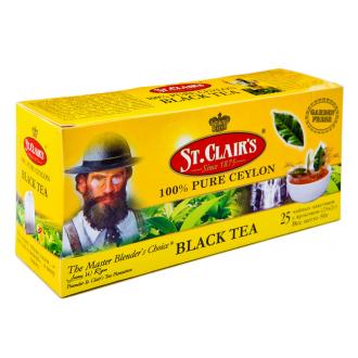 St.Clairs чай черный 25пак.*2гр*(24)