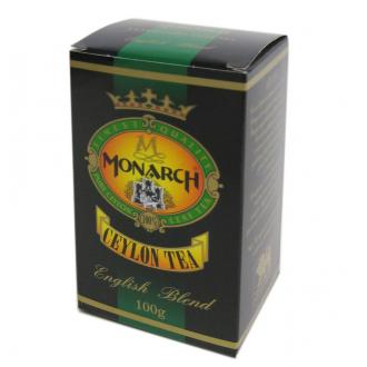 Монарх чай черный 100гр*80