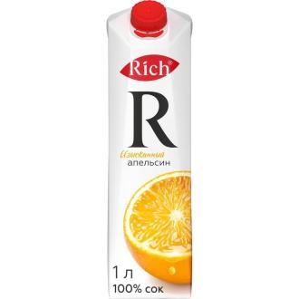 """Сок """"Рич"""" 1л*12 Апельсин"""