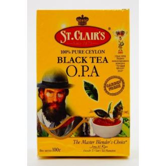 St.Clairs чай черный 100гр*48