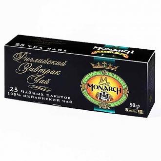 Монарх чай черный 25пак*24