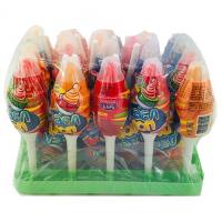 Жевательная конфета  'Дабл Поп ' + карамель на палочке 8г*30*(12бл)
