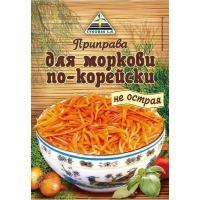 Приправа 'Для моркови по-корейски не острая 'ЦИКОРИЯ DISPL 30г*50