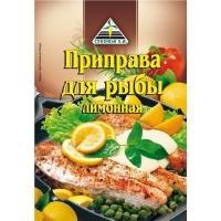Приправа 'Для рыбы лимонная 'ЦИКОРИЯ DISPL 30г*40