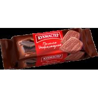 Печенье сахарное Кухмастер 'Шоколадное ' 170г*24