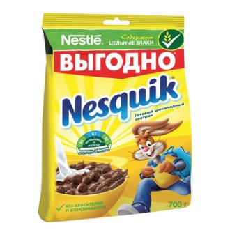 Несквик Пакет 700г*6 Шоколадные шарики